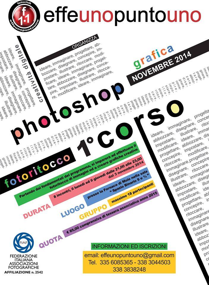 1° corso di photoshop