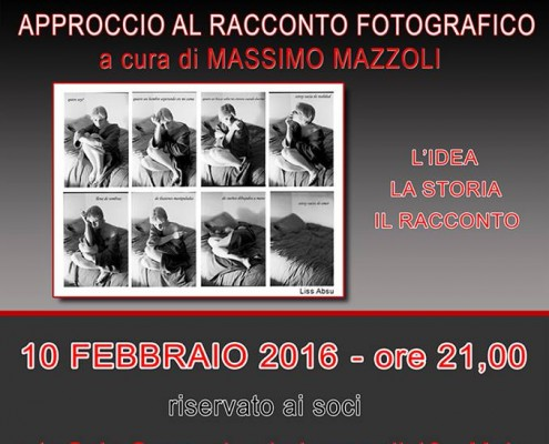 Racconto Fotografico Mazzoli