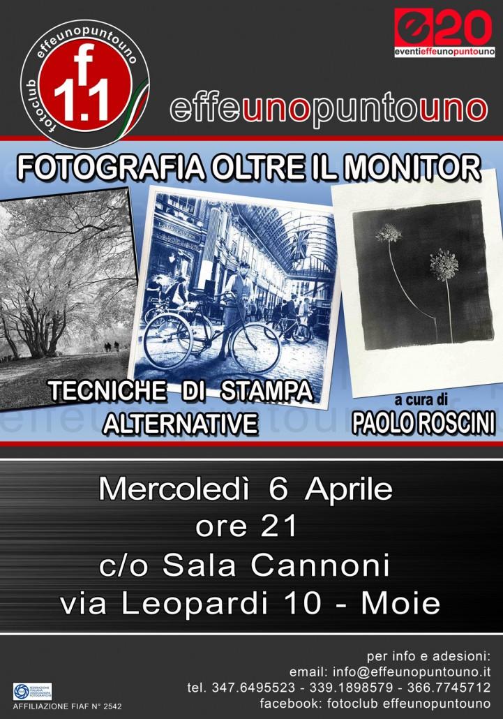 Fotografia oltre il monitor / Tecniche di stampa alternative